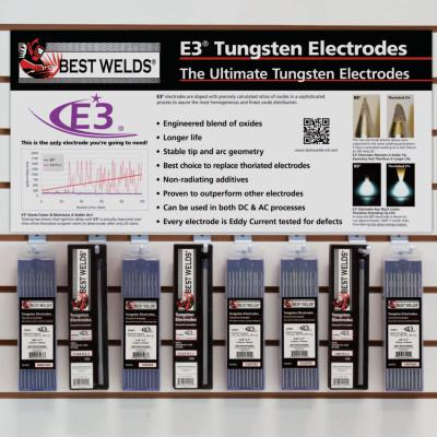 BEST WELDS E3 Tungsten Wall Display