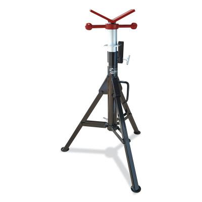BEST WELDS Heavy Duty Pipe Stand, V-Head, 2,500 lb Cap, 1-1/2 in Pipe