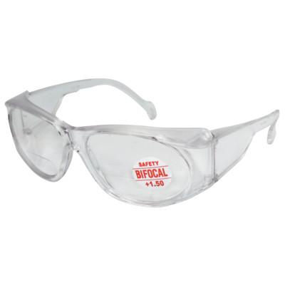 ANCHOR BRAND Bifocal Safety Glasses, 1.50 Diopter, Clear