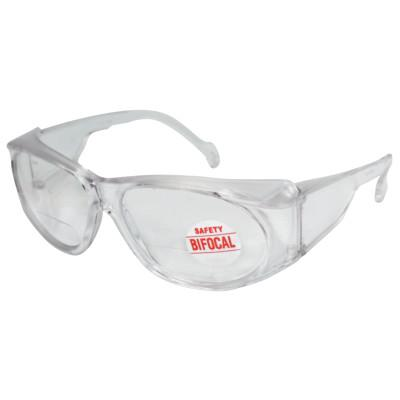 ANCHOR BRAND Bifocal Safety Glasses, 2.00 Diopter, Clear