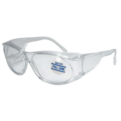 ANCHOR BRAND Full-Lens Magnifying Safety Glasses, 1.25 Diopter, Clear