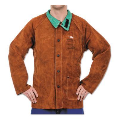 BEST WELDS Split Cowhide Leather Jackets, 3X-Large, Lava Brown