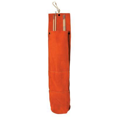 BEST WELDS 75 Rod Bags, 5 lb Capacity, Side Split Cowhide, Brown