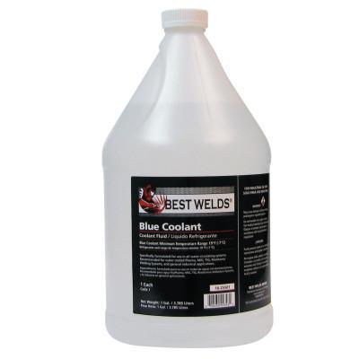 BEST WELDS Coolant Fluid, 19 °F; -7 °C, 1 Gal