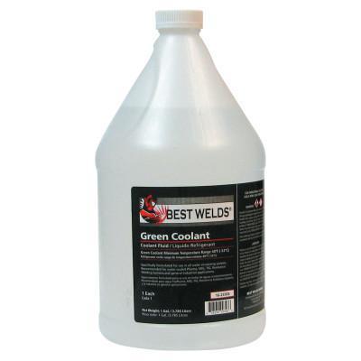 BEST WELDS Coolant Fluid, -60 °F; -52 °C, 1 Gal