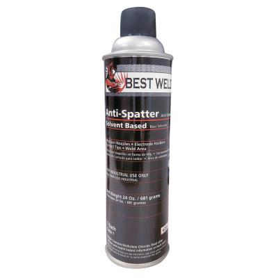 BEST WELDS Anti-Spatter, 24 oz Aerosol Can, Clear