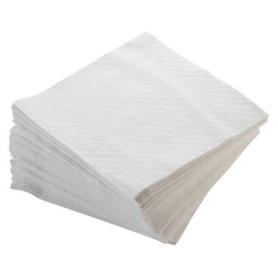 MORCON Dinner Napkins, 1-Ply, 17 x 17, White, 250/Pack