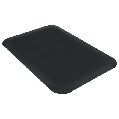 GUARDIAN Pro Top Anti-Fatigue Mat, PVC Foam/Solid PVC, 24 x 36, Black