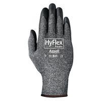 HYFLEX HyFlex Foam Gray Gloves, 9, Black/Gray