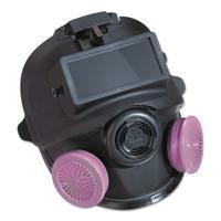 7600 Series Silicone Full Facepiece Respirators, Medium/Large
