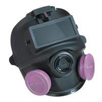 5400 Series Low Maintenance Full Facepiece Respirators, Small w/Welding Attachmt