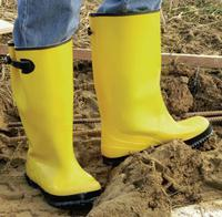 Slush Boots, Size 16, 17 in H, Yellow