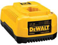 DEWALT 1 Hour Charger; 1 Hour Charger 7.2 - 18 Volt; NiCd/NiMH/Li-Ion Fast Charger