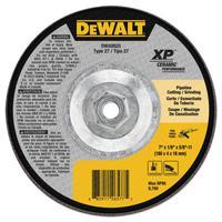 DEWALT Ceramic Grinding Wheel, 7 in Dia, 1/8 in Thick, 24 Grit Ceramic
