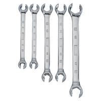 5 Piece Flare Nut Wrench Sets, Metric, 7 x 9 mm to 17 x 19 mm