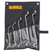 5 Piece Offset Box Wrench Sets, Inch