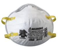 N95 Particulate Respirators, Half Facepiece, Non-Oil Fiter, One Size