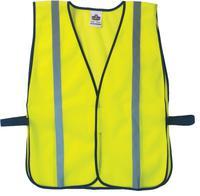 ERGODYNE GloWear 8020HL Non-Certified Standard Safety Vests, One Size, Lime
