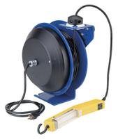 Pc13 Series Power Cord Reels, 12/3 Awg, 20 A, 50 Ft, Single Industrial Plug.