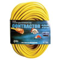 Vinyl Extension Cord, 50 ft, 1 Outlet