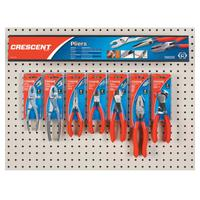 Mixed Slip Joint and Solid Joint Pliers Displays, 14 Pieces