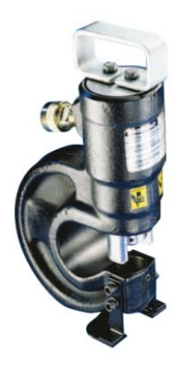 """""""Lightweight Hydraulic Punches, 35 tons, 10,000 psi, 4 Punch & Die Sets, Pump"""""""