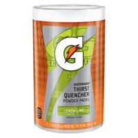 GATORADE Powder Packets, Lemon-Lime, 1.34 oz, Packet