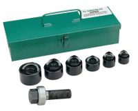8 Pc. Standard Industrial Punch Kits, 3/4 in - 1 1/2 in