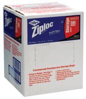 Ziploc Commercial Resealable Bags, Quart, Plastic