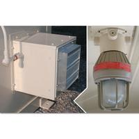 Explosion Proof Interior Light and Fan for Safety Locker