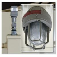 Explosion Proof Exterior Light with Photocell for Safety Locker