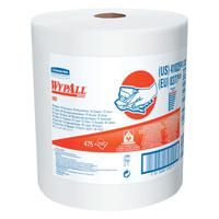 WypAll X80 Towels, Jumbo Roll, Cotton White, 475 per roll