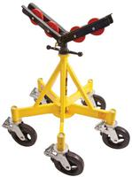 Sumner Max-Jax Pipe Stands, Steel,Stainless Steel Yellow