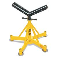 Sumner Max-Jax Pipe Stands, Yellow 29.6 in
