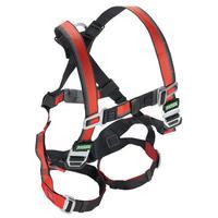 MSA EVOTECH Full Body Harnesses, D-Ring Back, Vest, Standard