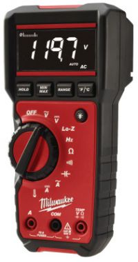 Milwaukee Digital Multimeters, True RMS, 5 Function, 10 AAC; 10 ADC