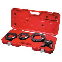 Force Logic Press Ring Kit, 2 1/2 in - 4 in Rings, 2 1/2 in - 4 Crimping Size
