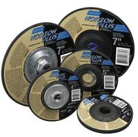 24 Grit 1//8 Thick 10 Units 4 1//2 Dia 5//8-11 Arbor Depressed Center Grinding Wheel