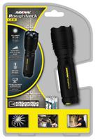 """RoughNeck LED Flashlight, 3 AAA, 90 to 220 lumens"""