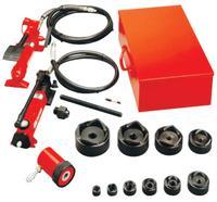 Slug-Out Hydraulic Knockout Sets, 2 ft, 12 gauge (stainless), 10 gauge (mild)