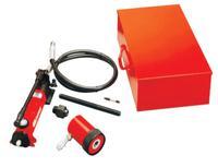 Slug-Out Hydraulic Knockout Sets, 12 gauge (stainless), 10 gauge (mild)