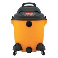 Economical Wet/Dry Vacuum, 12gal Capacity, 23lb, Black/Yellow
