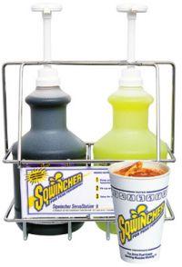 64 oz Sqwincher Servastation Liquid Concentrate Dispenser Kit