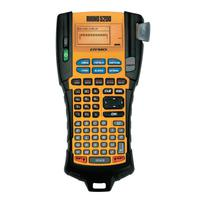 RHINO Industrial 5200 Label Maker, Includes Black on White, 3/4 in x 18 ft