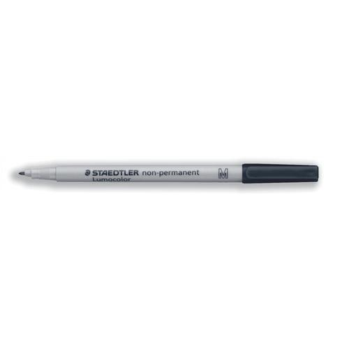 Staedtler 315 Lumocolor Pen Non-permanent Medium 1.0mm Line Black Ref 315-9 [Pack 10]