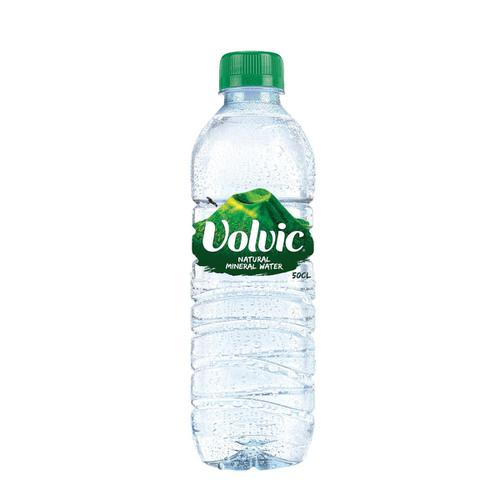 Volvic Natural Mineral Water Still Bottle Plastic 500ml Ref 02210 [Pack 24]