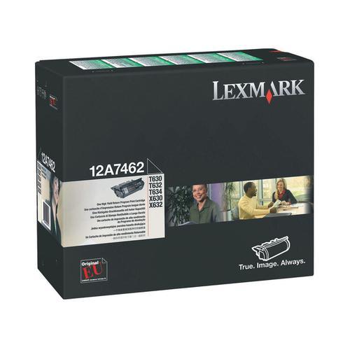 Lexmark Toner Cart Black 12A7462