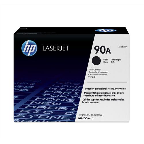 HP 90A Laser Toner Cartridge Page Life 10000pp Black Ref CE390A