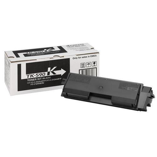 Kyocera TK-590K Laser Toner Cartridge Page Life 7000pp Black Ref 1T02KV0NL0