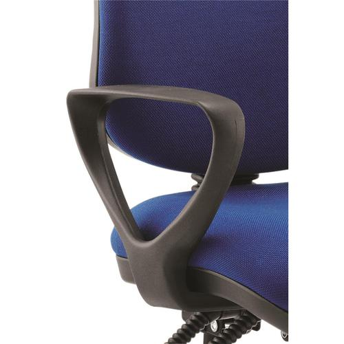 Trexus Fixed Chair Arms Black Ref 101195 [Pair]